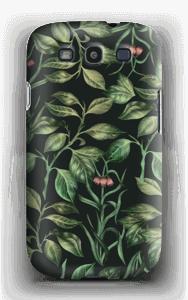 Hämyiset lehdet kuoret Galaxy S3