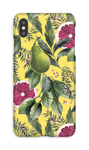 Grapefruit passion case IPhone XS Max