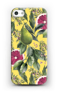 Grapefruit passion case IPhone SE