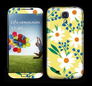 Fleurs ensoleillées Skin Galaxy S4