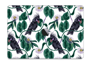 "Leaves & Cockatoo Skin MacBook Pro 13"" 2016-"