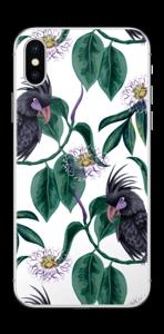 Leaves & Cockatoo Skin IPhone X