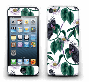 Leaves & Cockatoo Skin IPod Touch 5th Gen
