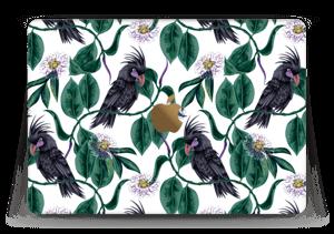 """Leaves & Cockatoo Skin MacBook 12"""""""