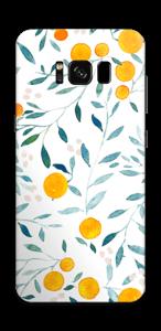 Appelsiini tarrakuori Galaxy S8