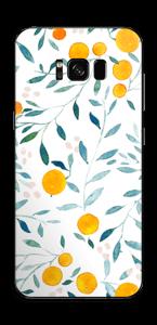 Des oranges Skin Galaxy S8 Plus