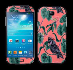 Cockatoo on pink Skin Galaxy S4 Mini