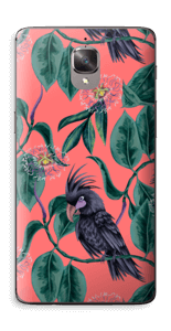 Cockatoo on pink Skin OnePlus 3