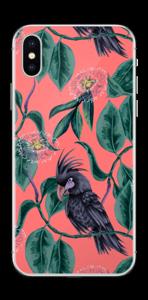 Kakatoes & Rose Skin IPhone X