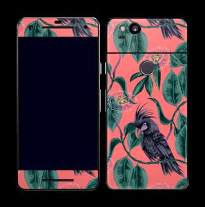 Cockatoo on pink Skin Pixel 2