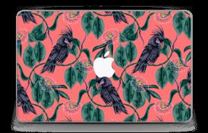 """Cockatoo on pink Skin MacBook Air 11"""""""