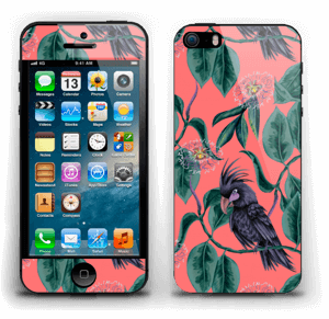 Kakatoes & Rose Skin IPhone 5s