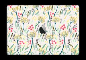 """Kesäkukat tarrakuori MacBook Pro 13"""" 2016-"""