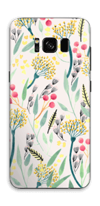 Sommarblomster Skin Galaxy S8