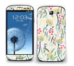 Flowers of the summer Skin Galaxy S3