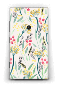 Flowers of the summer Skin Nokia Lumia 920