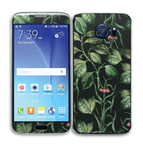 Wild Leaves Skin Galaxy S6