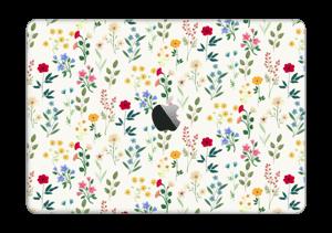 "Kevätkukat tarrakuori MacBook Pro 13"" 2016-"