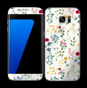 Fleurs de toutes les couleurs Skin Galaxy S7 Edge