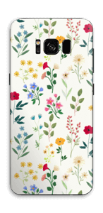 Vårblomster Skin Galaxy S8