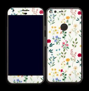 Fleurs de toutes les couleurs Skin Pixel XL