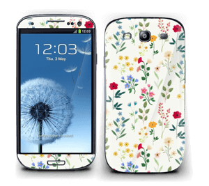 Flowers of the Spring Skin Galaxy S3