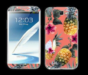 Pineapple Drink Skin Galaxy Note 2
