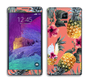 Pineapple Drink Skin Galaxy Note 4
