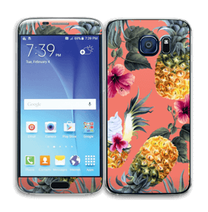 Pineapple Drink Skin Galaxy S6