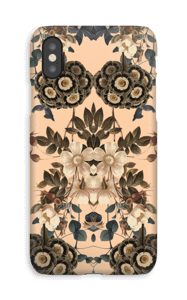 Vintage flowers case IPhone XS