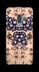 Beige Blüten Handyhülle Galaxy S9 Plus