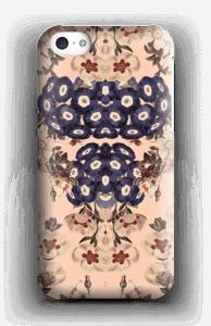 Mørke blomster cover IPhone 5c