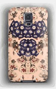 Mørke blomster cover Galaxy S5