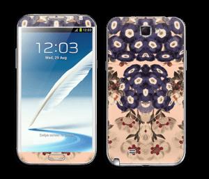 Spring florals Skin Galaxy Note 2