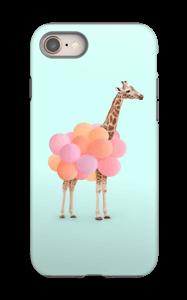 Ilmapallokirahvi kuoret IPhone 8 tough
