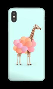 Ilmapallokirahvi kuoret IPhone XS Max