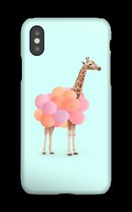 Giraff i ballonger skal IPhone XS