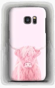 Rosa Ochse Handyhülle Galaxy S7