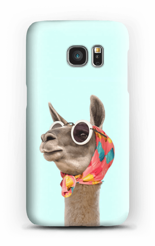 Lama Dame Handyhülle Galaxy S7