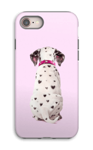Söpis dalmatialainen kuoret IPhone 8 tough
