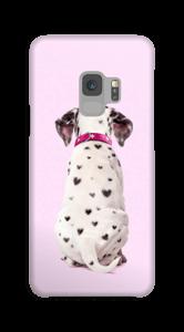 Dalmatiner i hjerter cover Galaxy S9