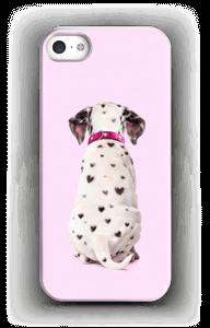 Dalmatiner i hjerter cover IPhone 5/5S