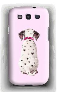 Söpis dalmatialainen kuoret Galaxy S3