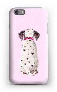 Dalmatiner i hjerter cover IPhone 6 Plus tough