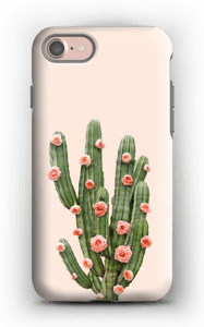 Cactus i blomster cover IPhone 7 tough