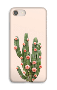Cactus i blomster cover IPhone 8