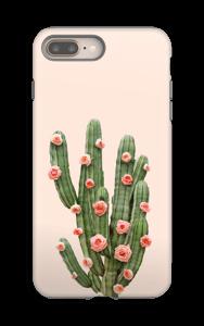 Fleurs de cactus Coque  IPhone 8 Plus tough