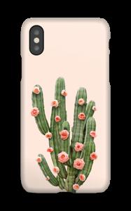 Kukkiva kaktus kuoret IPhone X