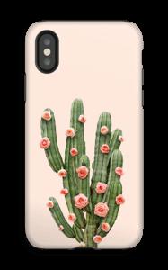 Fleurs de cactus Coque  IPhone X tough
