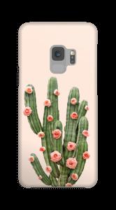 Kukkiva kaktus kuoret Galaxy S9